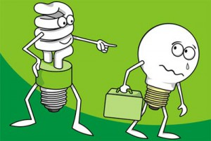 Replace your traditional bulbs with LEDS